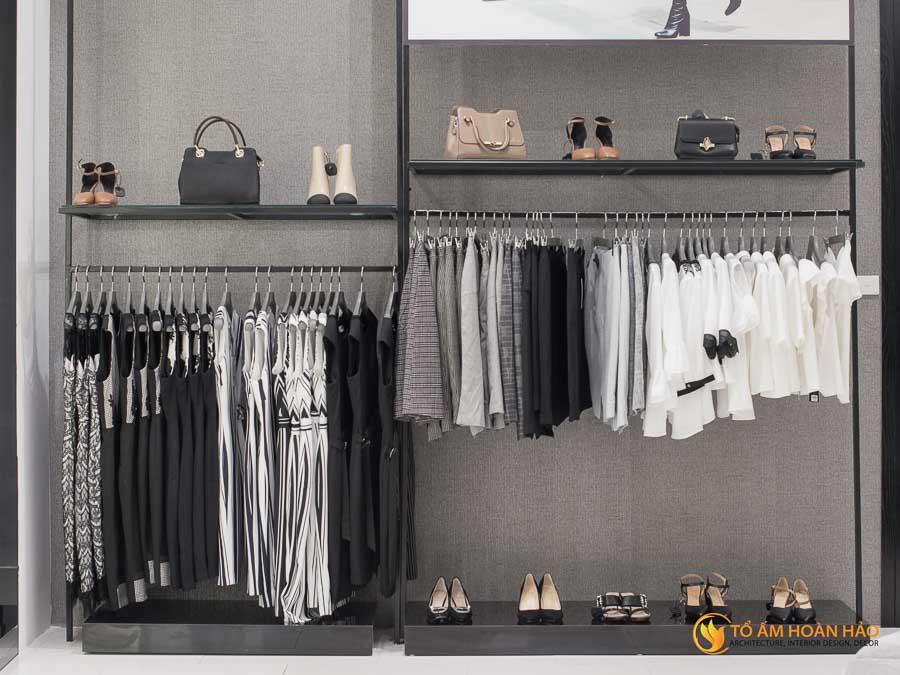 thiết kế thi công kiến trúc nội thất showroom thời trang sohee Vincom Bà Triệu 15