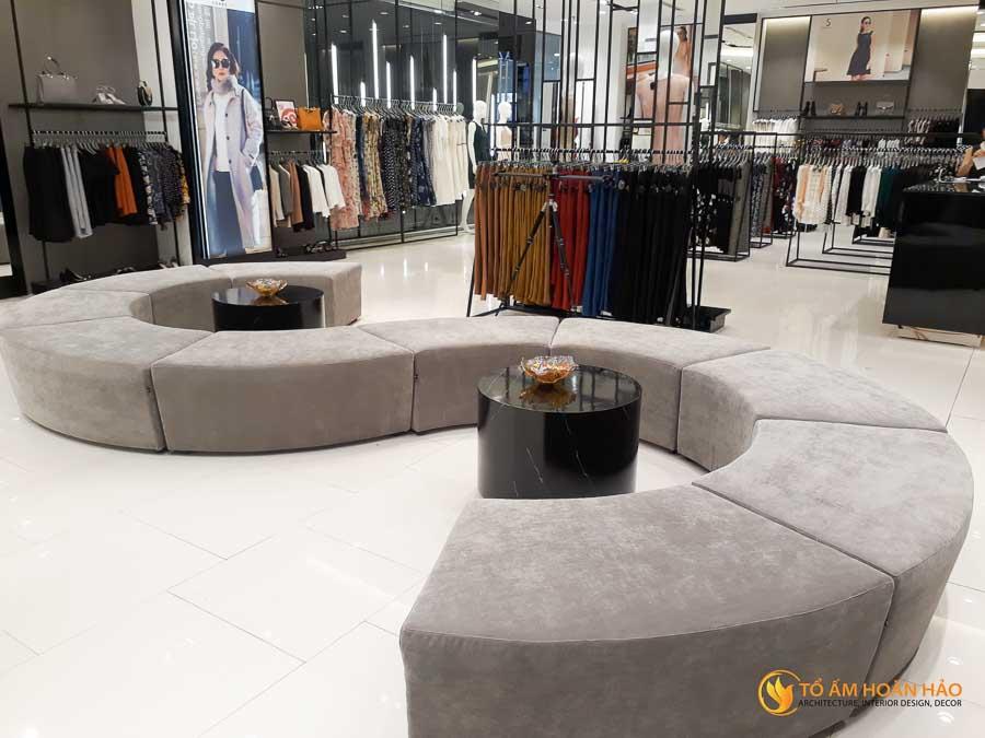 thiết kế thi công kiến trúc nội thất showroom thời trang sohee Vincom Bà Triệu 3