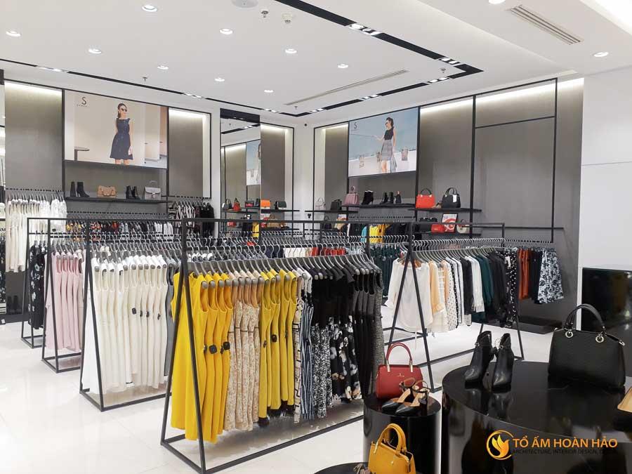 thiết kế thi công kiến trúc nội thất showroom thời trang sohee Vincom Bà Triệu 5