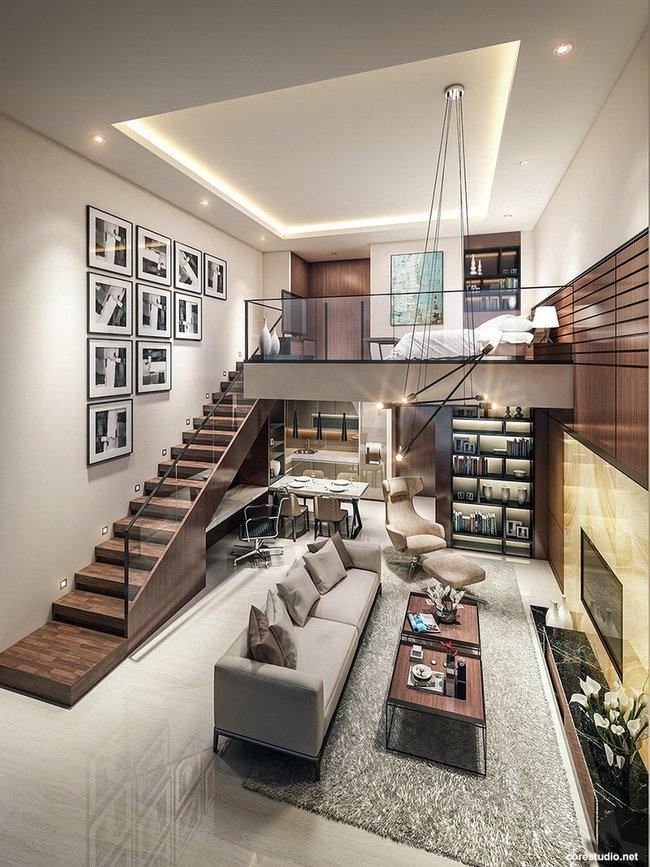 công ty kiến trúc nội thất tư vấn thiết kế nhà 40m2 8