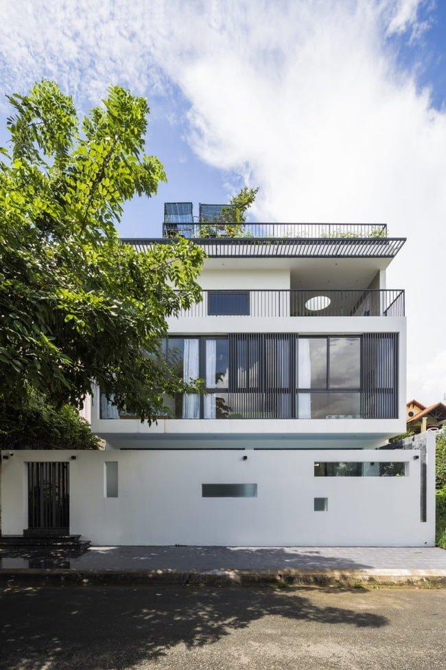thiết kế nhà đẹp mặt tiền 7m2 4