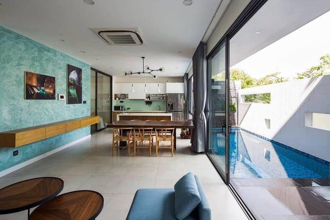 thiết kế nhà đẹp mặt tiền 7m2 2