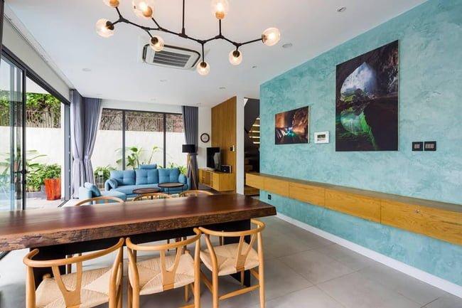 thiết kế nhà đẹp mặt tiền 7m2 1