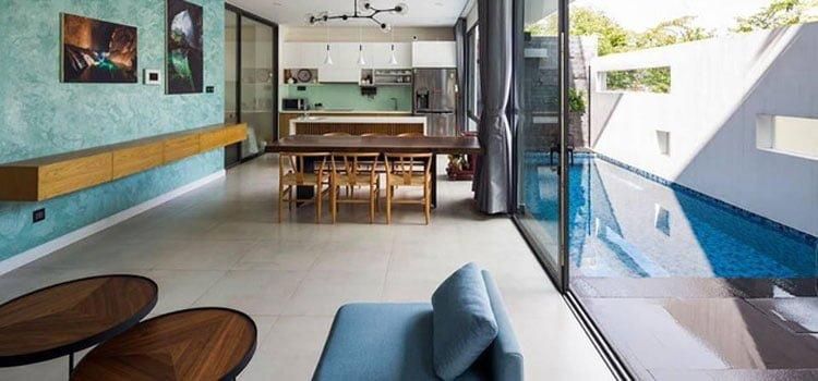 thiết kế nhà đẹp mặt tiền 7m2