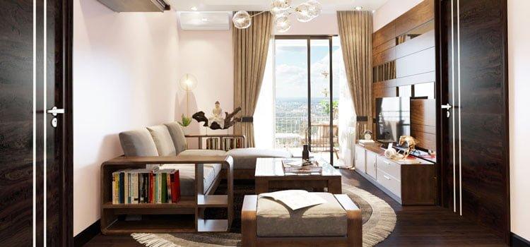 thiết kế thi công kiến trúc nội thất chung cư An Bình