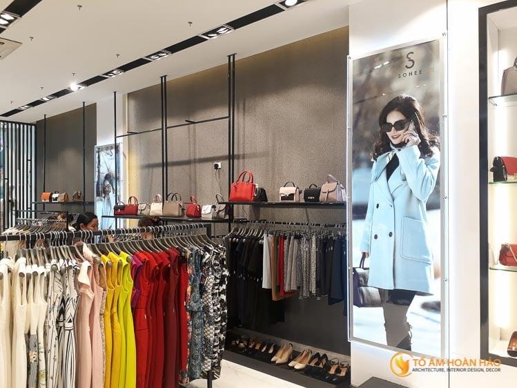 thiết kế thi công nội thất showroom thời trang Sohee Thanh Hóa 9