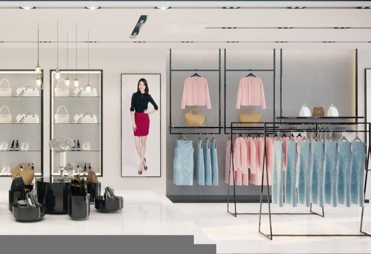 thiết kế thi công nội thất showroom thời trang Sohee Thanh Hóa 7