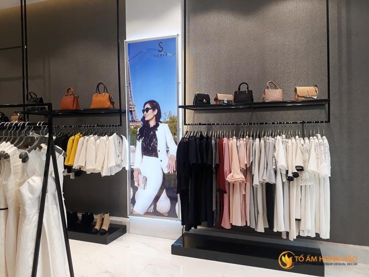 thiết kế thi công nội thất showroom thời trang Sohee Thanh Hóa 11