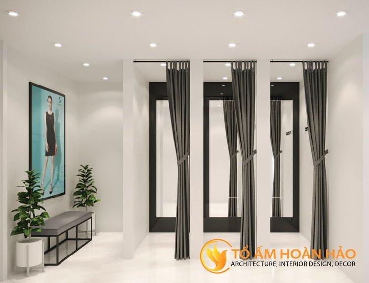 thiết kế thi công nội thất showroom thời trang Sohee Thanh Hóa 8