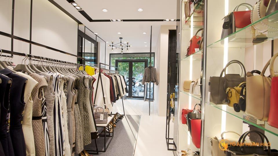 thiết kế thi công nội thất showroom thời trang Sohee Nguyễn Văn Huyên 16