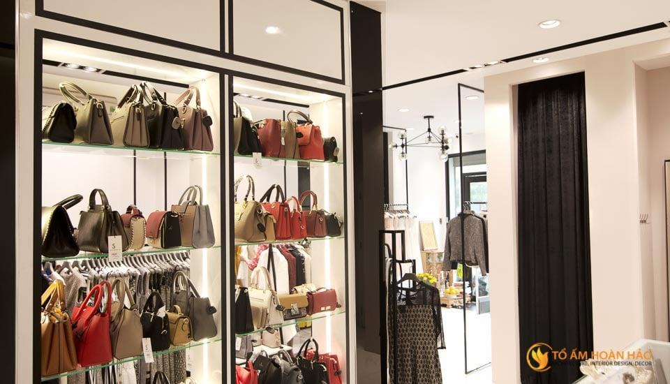 thiết kế thi công nội thất showroom thời trang sohee Nguyễn Văn Huyên 8