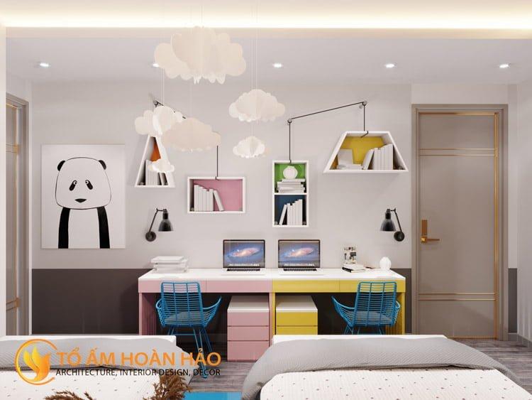 Thiết kế thi công nội thất chung cư Sun Grand City 14