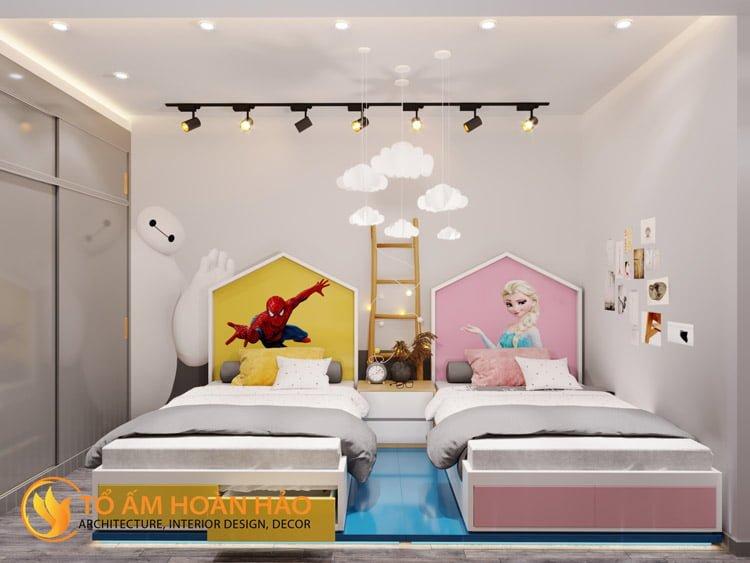 Thiết kế thi công nội thất chung cư Sun Grand City 13