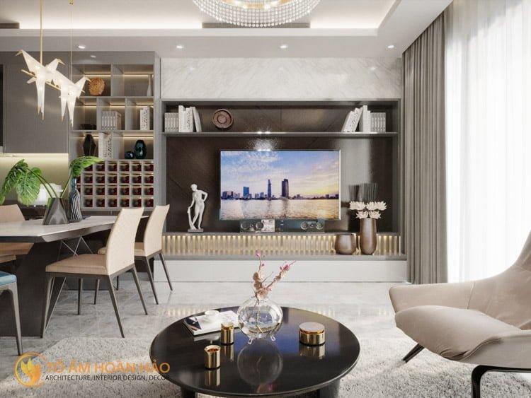 Thiết kế thi công nội thất chung cư Sun Grand City 2