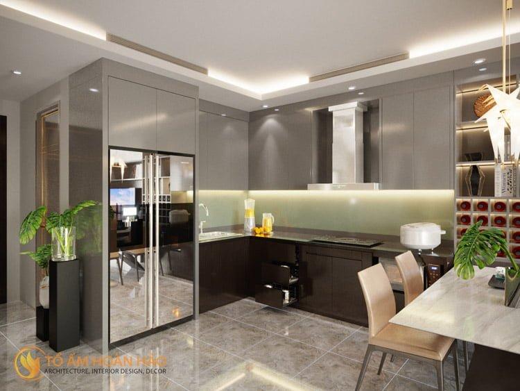 Thiết kế thi công nội thất chung cư Sun Grand City 6