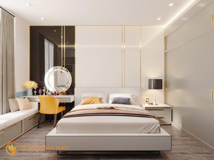 Thiết kế thi công nội thất chung cư Sun Grand City 7