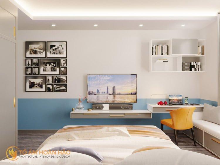 Thiết kế thi công nội thất chung cư Sun Grand City 8