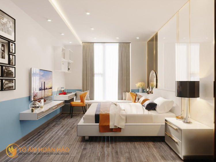 Thiết kế thi công nội thất chung cư Sun Grand City 9