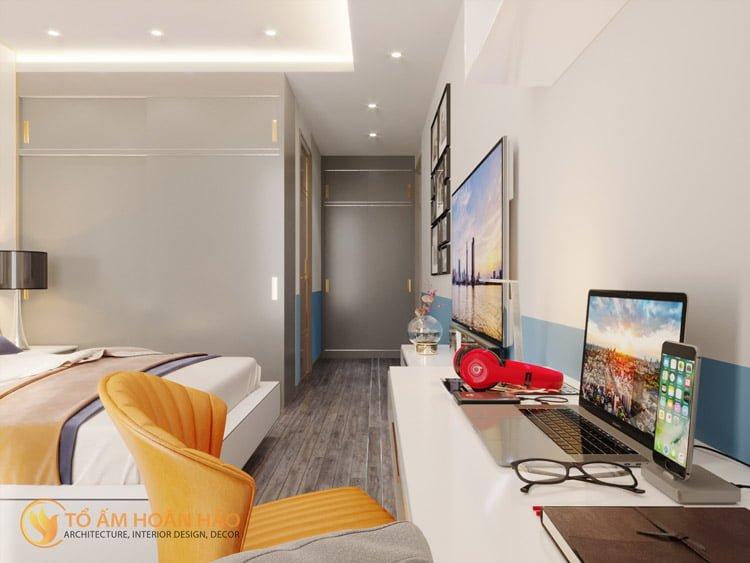 Thiết kế thi công nội thất chung cư Sun Grand City 10